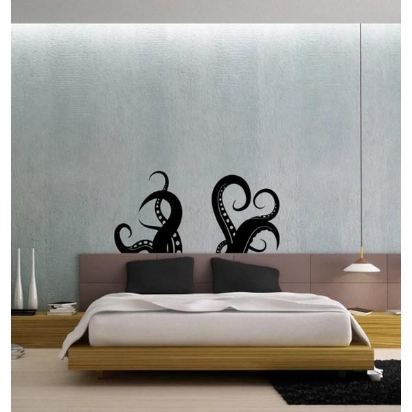 Octopus Tentacles Vinyl Wall Decal