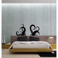 Octopus Tentacles Vinyl Wall Decal