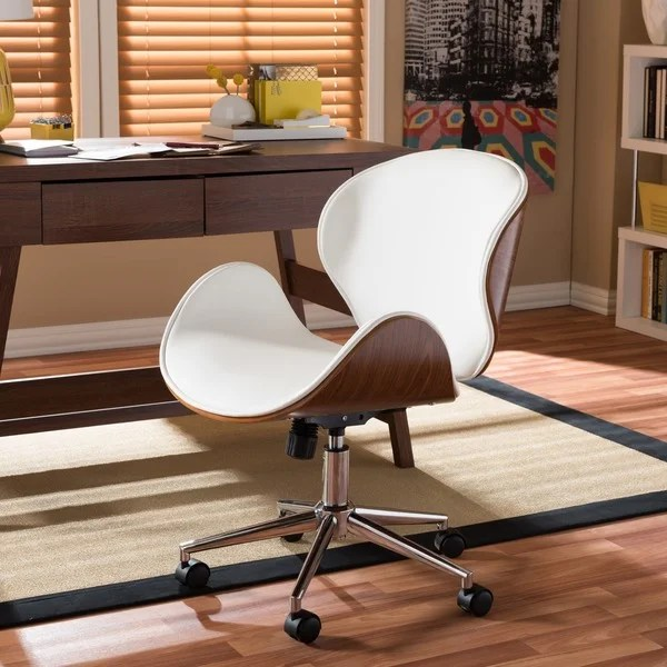 office chair for sale ergonomic chairs back pain shop carson carrington nybro walnut wood modern on