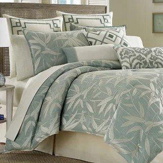 Shop Tommy Bahama Bamboo Print Breeze 4piece Comforter