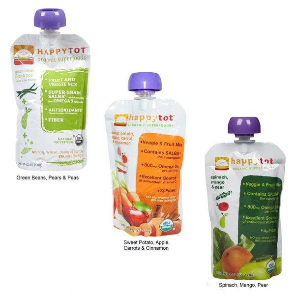 Happy Baby Tot Food Pouch Free Shipping On Orders Over