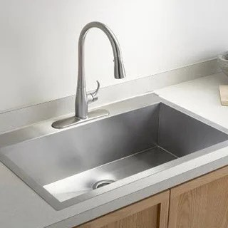 single sink kitchen appliances pittsburgh buy bowl sinks online at overstock com our best deals