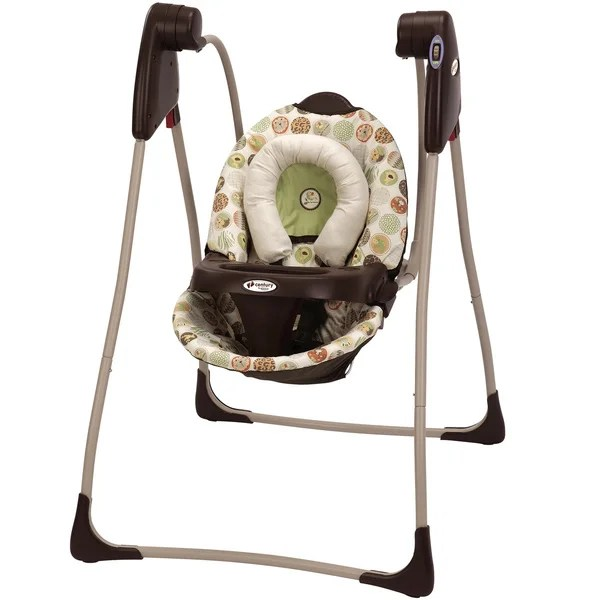 tiny love bouncer chair chiropractic wobble benefits graco century compact swing in jungle boogie - free shipping today overstock.com 15785709