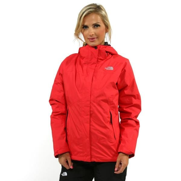 Shop The North Face Women's Mountain Light Triclimate Tearberry Pink Jacket - Overstock - 8504465