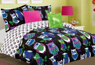Teen Owl Bedding