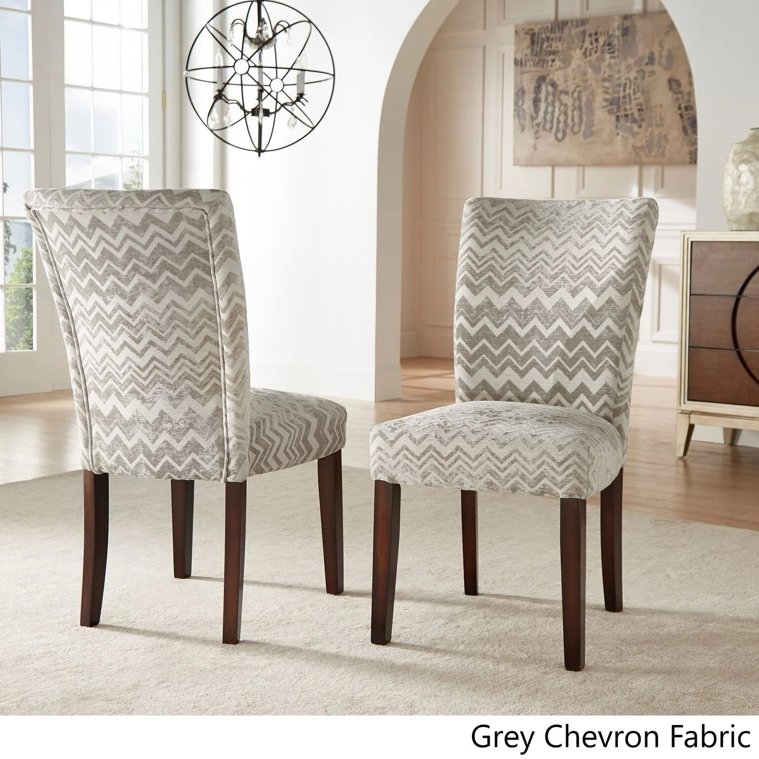 Print Parsons Chair Catherine Print Parsons Dining Side Chair Set Of 2 By
