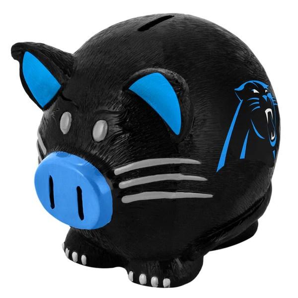 Shop NFL Carolina Panthers Thematic Resin Piggy Bank
