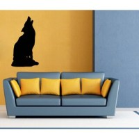 Wolf Sudden Shadows Wall Decal - 12638491 - Overstock.com ...