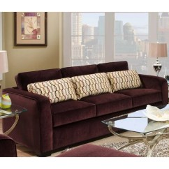 Eggplant Sofa Connecting Brackets Shop Simmons Beautyrest Venice Free Shipping Today Overstock Com 8574449