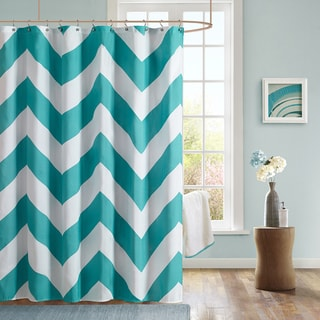 Blue Shower Curtains Overstock Com Vibrant Fabric Bath Curtains