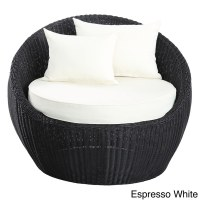 Luna Outdoor Round Rattan Patio Chair - Free Shipping ...