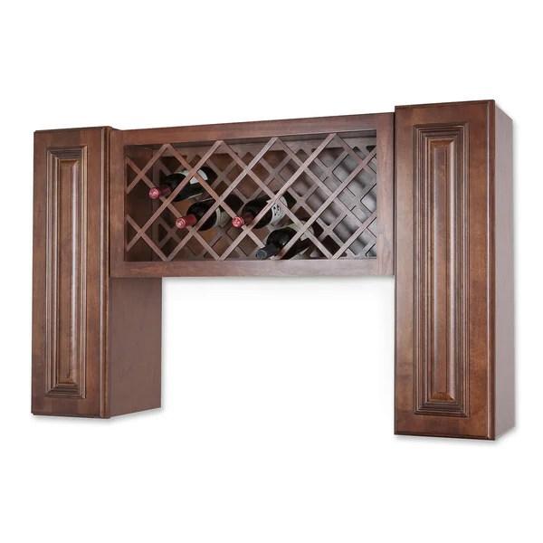 Shop Wall Mount Wine Rack Cabinet Unit