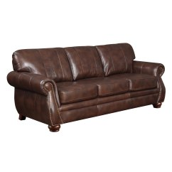 Leather Sofa Deals Free Shipping Bernhardt Furniture At Home Designs Monterey Natural Brown