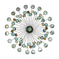 Abstract Metal Wall Decor - 15876936 - Overstock.com ...