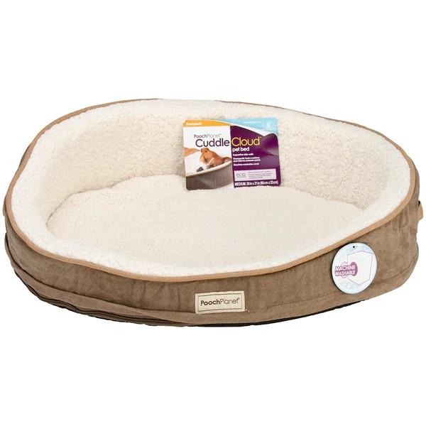 Shop PoochPlanet CuddleCloud Therapeutic Foam Pet Bed