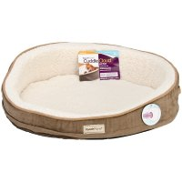 Shop PoochPlanet CuddleCloud Therapeutic Foam Pet Bed