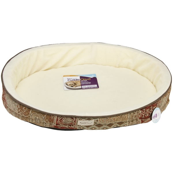 PoochPlanet CuddleCloud Therapeutic Foam Pet Bed