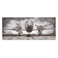 Shop Wood/ Metal Airplane Wall Decor