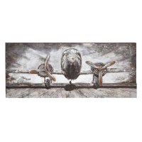 Shop Wood/ Metal Airplane Wall Decor - Free Shipping Today ...