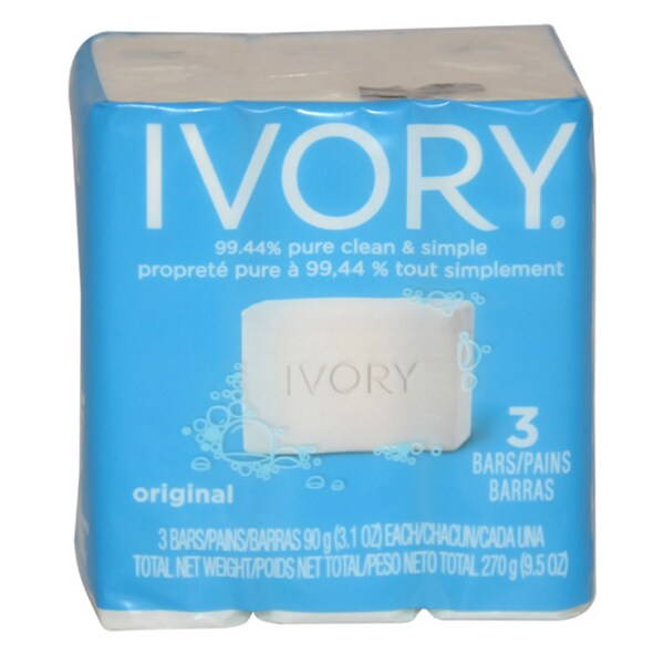 Shop Ivory Original Bath Bar 31ounce Soap Pack of 3