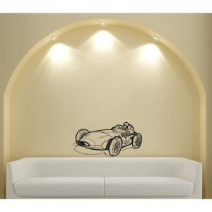 Roadster Formula 1 Sports Car Racer Design Vinyl Wall Art Decal