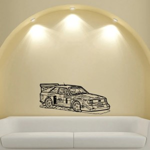 Rally Racing Sport Tuning Stickers Design Vinyl Wall Art Decal