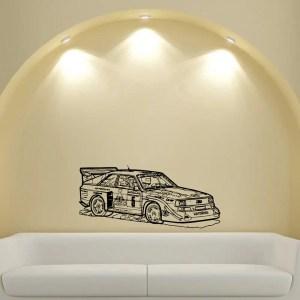 Rally Racing Sport Tuning Stickers Design Vinyl Wall Art Decal