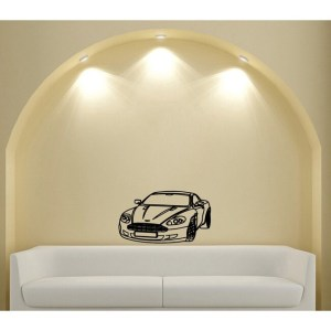 Sports Car Vinyl Wall Decal