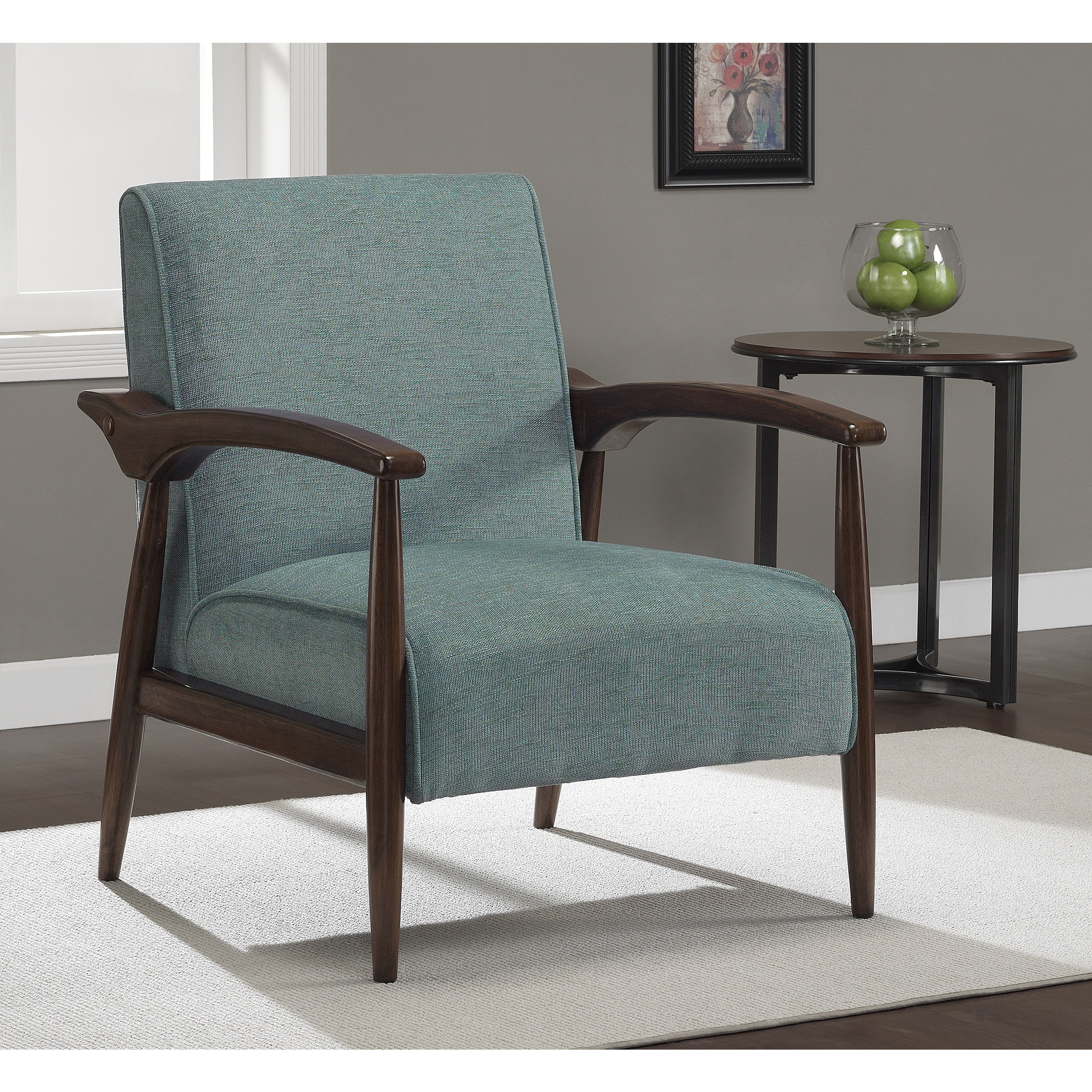 overstock arm chair child wooden rocking gracie aqua retro shopping great