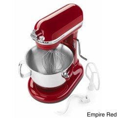 Kitchen Aid 6000 Hd Round Sink Shop Kitchenaid Rksm6573 6 Quart Bowl Lift Stand Mixer Refurbished