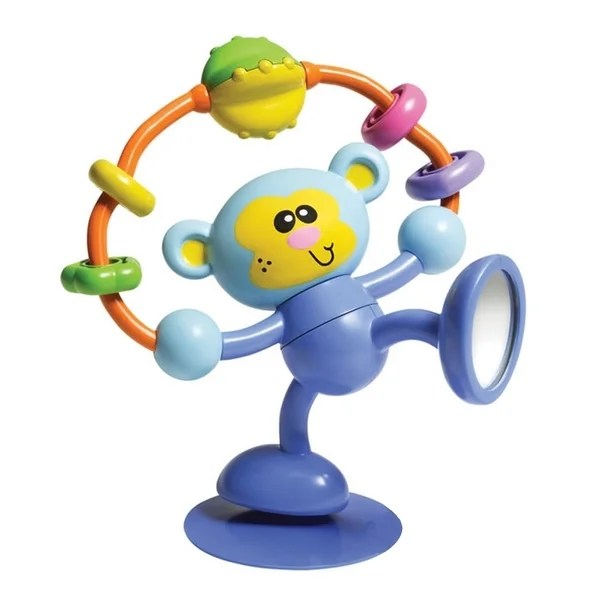 high chair suction toys folding kohls shop infantino stick spin monkey toy free shipping on orders over 45 overstock com 8688918