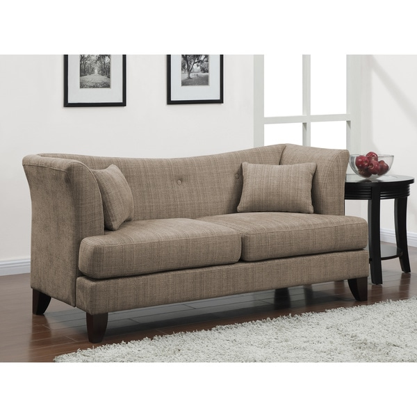 modern twine curved arm sofa tesco florence review shop free shipping today overstock