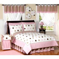 Shop Sweet Jojo Designs Girls 'Dots' 3-piece Full/Queen ...