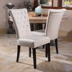 Overstock Com Chairs Ikea Upholstered Chair Shop Venetian Tufted Dining Set Of 2 By Christopher Knight Home