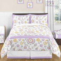 Shop Sweet Jojo Designs Suzanna Girls 3-piece Full/Queen ...