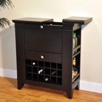 Ashley Heights Home Bar Wine Cabinet - 14938377 ...