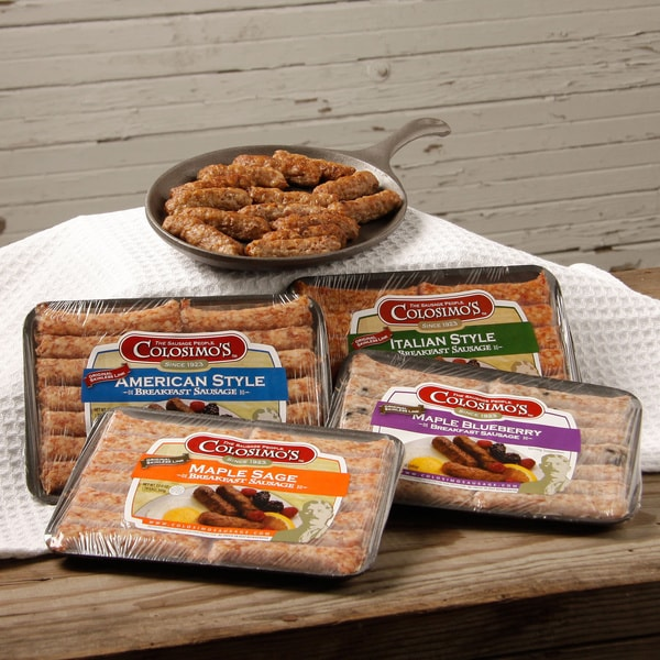 Shop Colosimo Skinless Breakfast Sausage Variety Pack ...