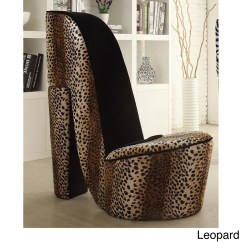 Leopard High Heel Shoe Chair Cover For Chairs Buy Living Room Online At Overstock Our Best