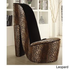 Leopard High Heel Chair Ethan Allen Pine Rocking Buy Living Room Chairs Online At Overstock Our Best