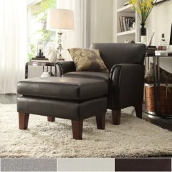 Living Room Chair And Ottoman Foldable Lawn Chairs Buy Sets Online At Overstock Com Uptown Modern Accent By Inspire Q Classic