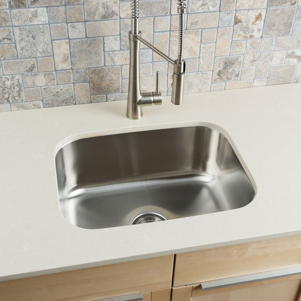 large kitchen sinks cabinet door moulding shop hahn stainless steel single bowl undermount sink