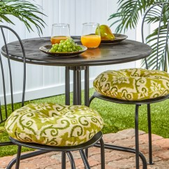16 Inch Round Chair Cushions Outdoor Reclining Chairs Shop 15 Bistro Set Of 2