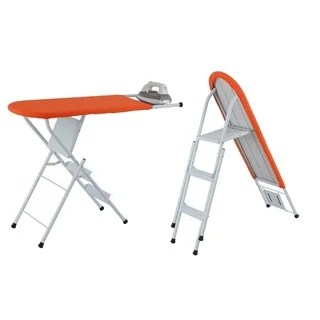 chair step stool ironing board cheapest covers for sale shop and ladder combo free shipping today overstock com 8775073