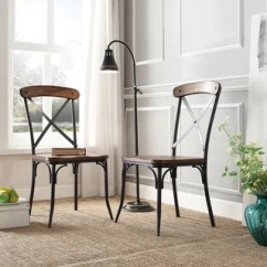 Modern Steel Chair Design Jenny Lind High For Sale Buy Metal Kitchen Dining Room Chairs Online At Overstock Com Our Nelson Industrial Rustic Cross Back By Inspire Q Classic Set Of 2