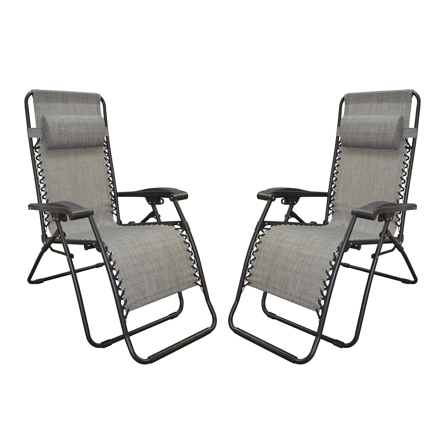 zero gravity chair 2 pack track chairs for vets caravan canopy grey infinity of