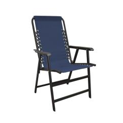 Camp Chair With Canopy Ballard Designs Upholstered Dining Chairs Shop Caravan Blue Suspension Folding - Free Shipping Today Overstock.com 8789499