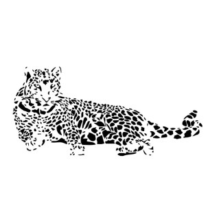Predator Tiger Sticker Vinyl Wall Decal Art