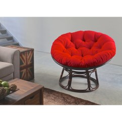Replacement Papasan Chair Cushion Ergonomic Office Chairs Phoenix Blazing Needles 48 Inch Solid Twill Tufted