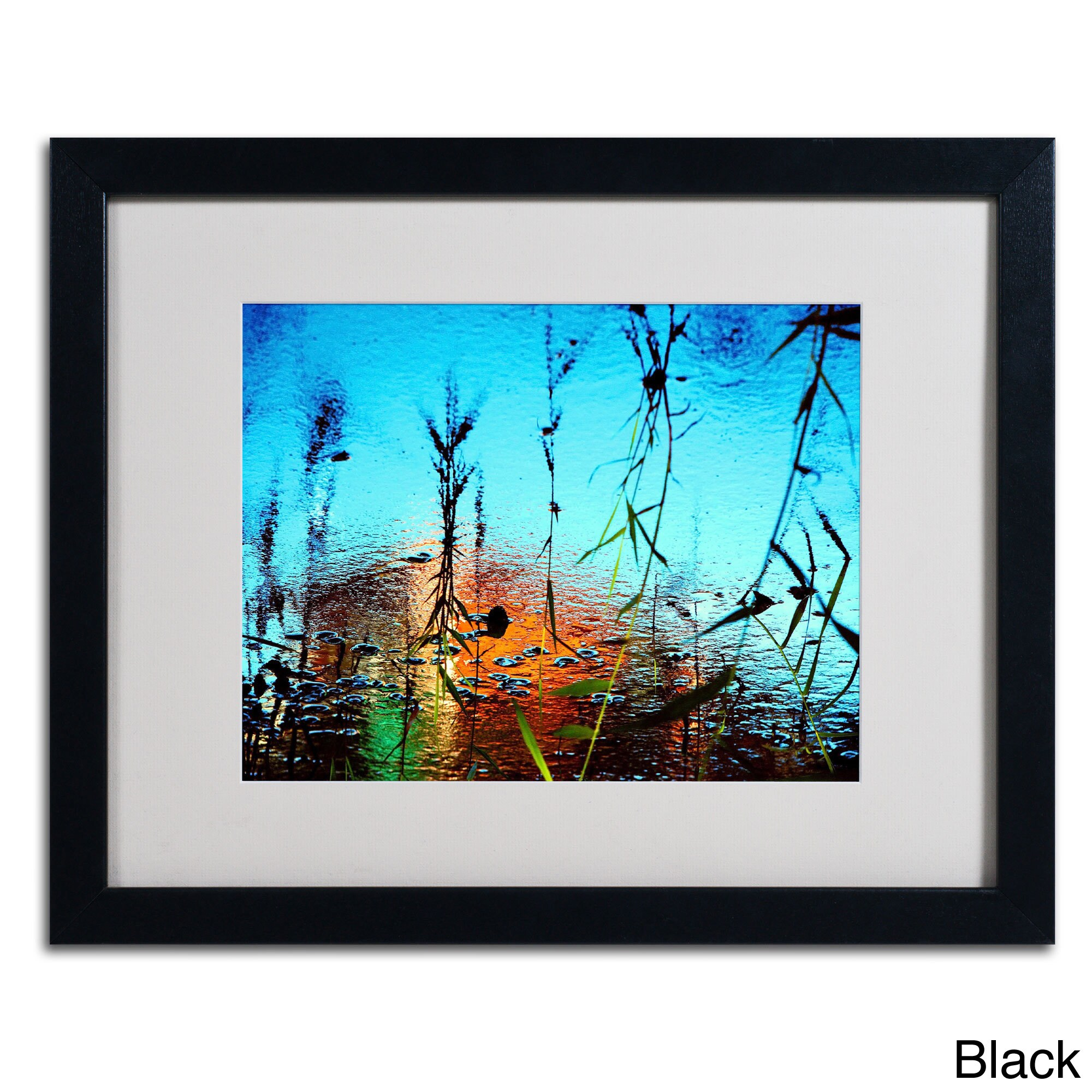Beata Czyzowska Young 'Painted by Nature' Framed Matted Art