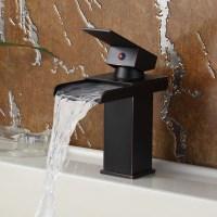 Elite Oil Rubbed Bronze Water Fall Design Single Lever ...